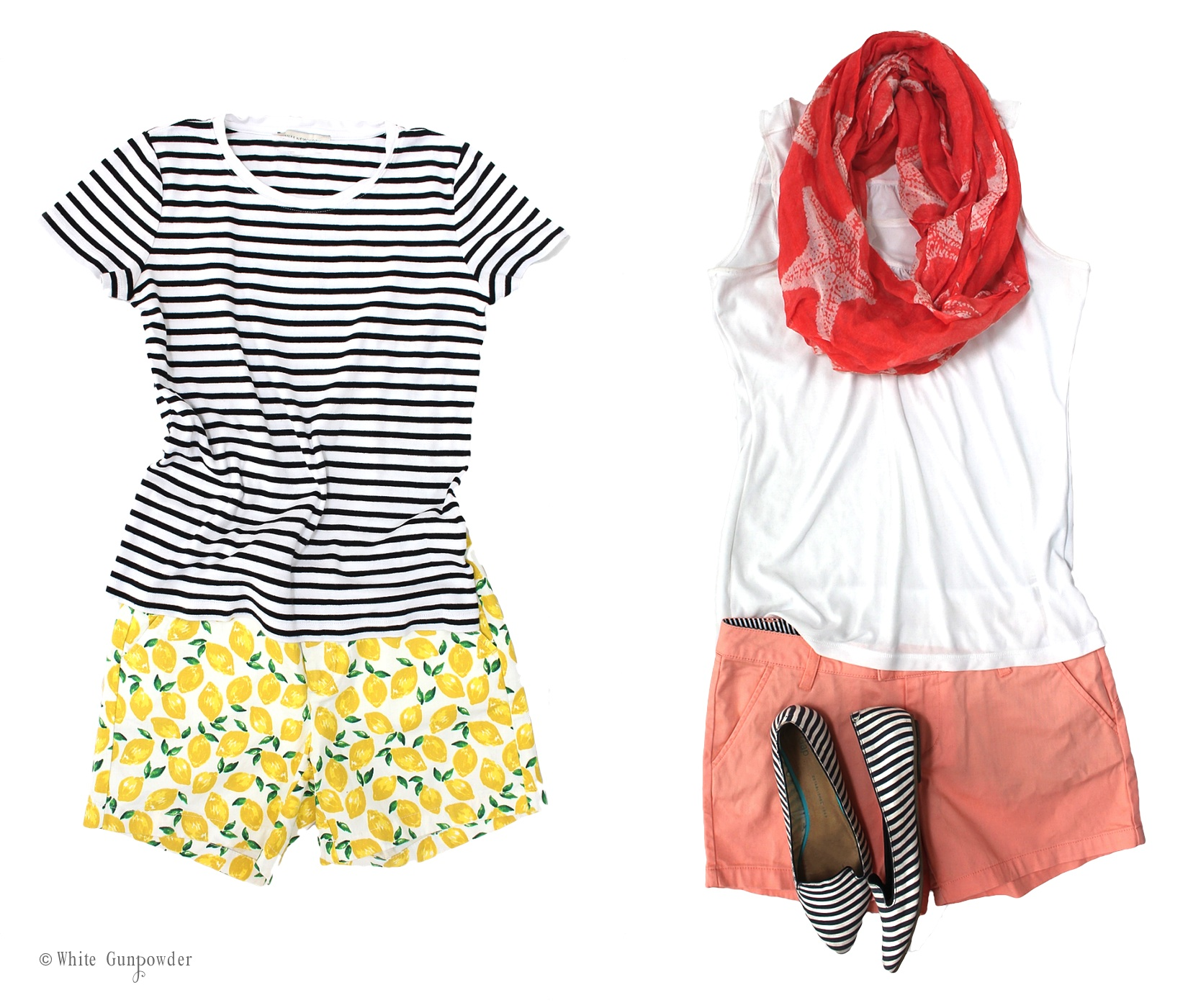 Charming Cape Cod A List Part - 14: Cape Cod - Packing List. Nordstrom Caslon Lemon Print Shorts. Nordstrom  Volcum Frochickie Shorts U2013 Salmon Color. Gap Striped Pointy Flats
