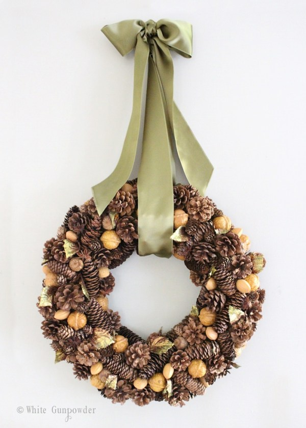 Fall decorations - wreath