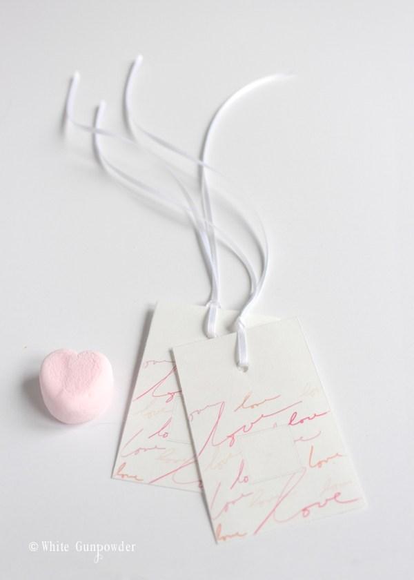 Valentine's day, treats - tags