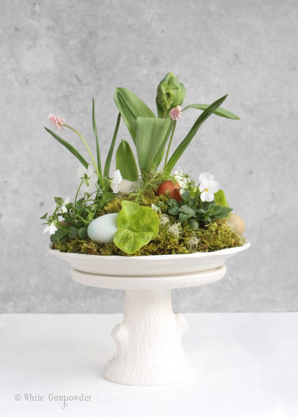 Easter flower - egg arrangements