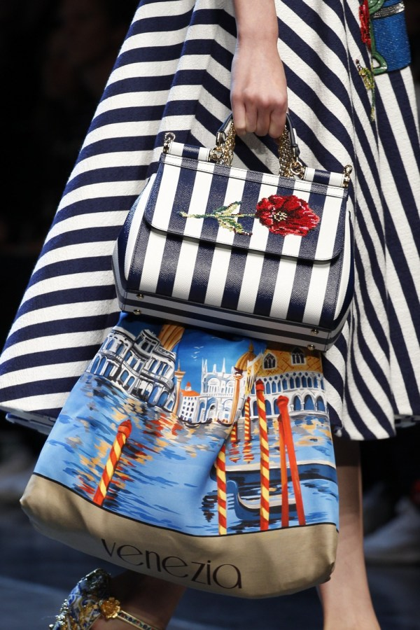 Fashion-stripes, Dolce Gabbana Spring 2016
