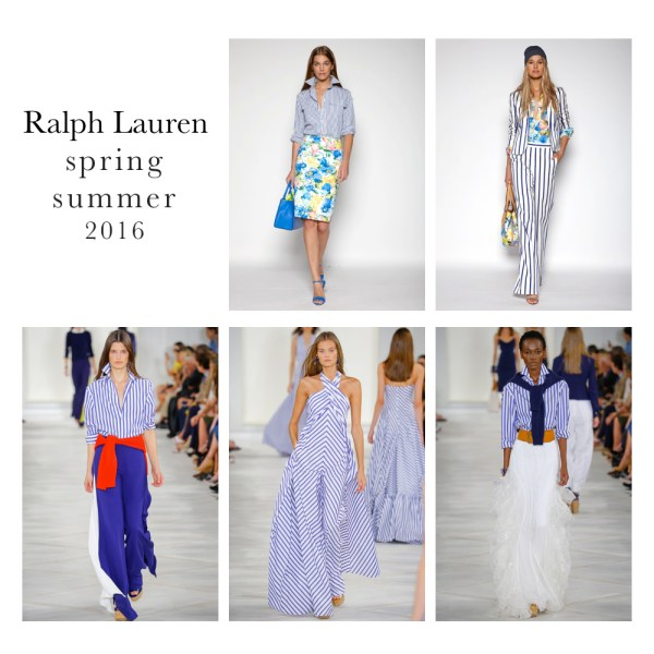 Fashion-stripes, Ralph Lauren spring 2016
