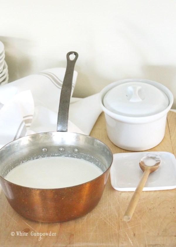 julia child cookbooks - creme fraiche