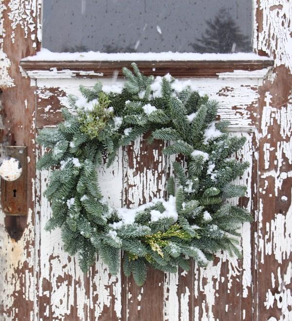 december-christmas -wreath