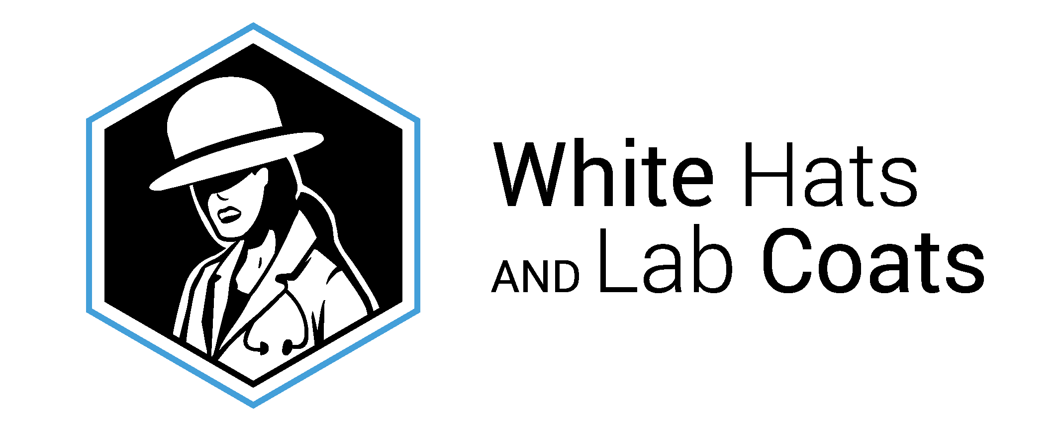 White Hats and Lab Coats logo
