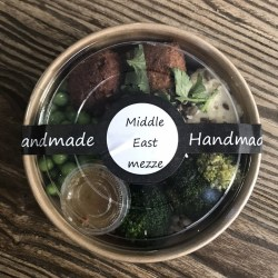 Middle East mezze