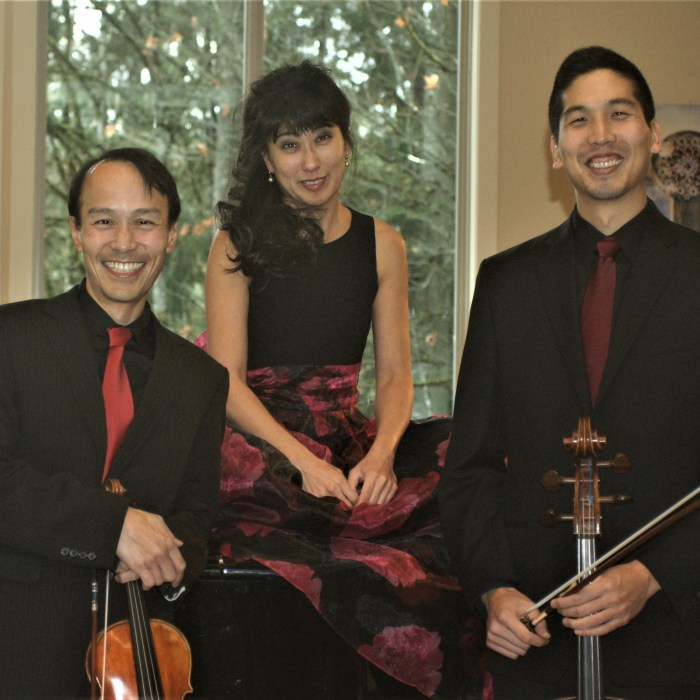 Cascadia Piano Trio: Saturday, September 14, 2019
