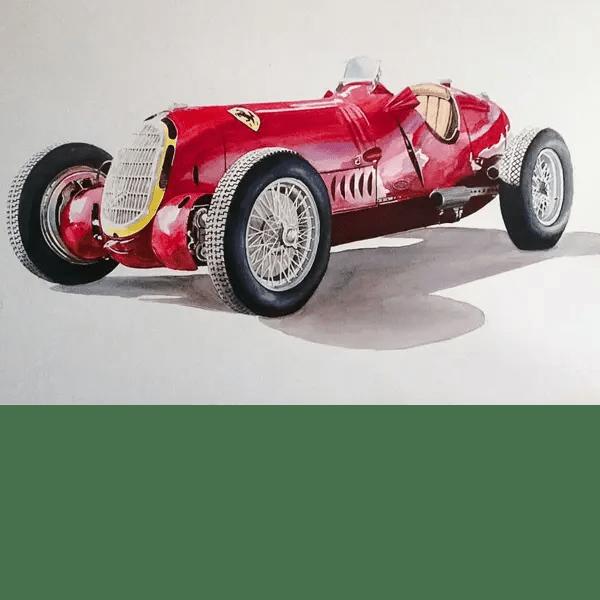 Alfa Romeo 12C36 - Phillip Dutton White - Original Artwork