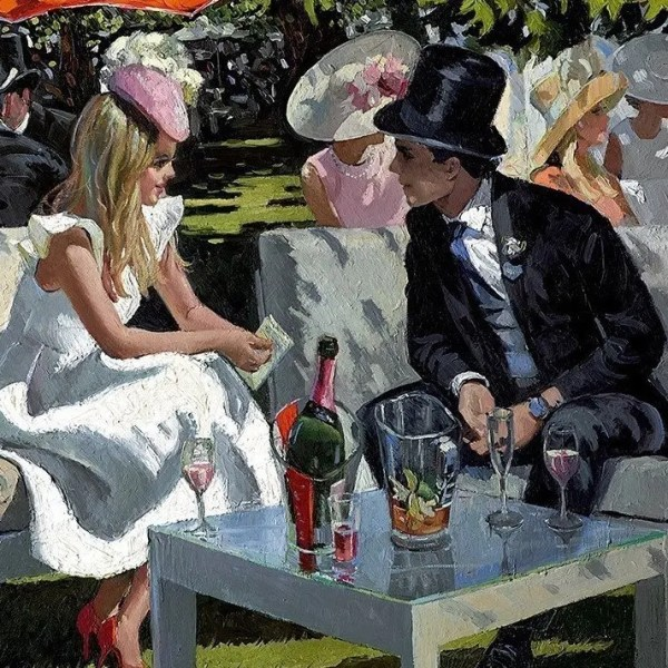 Ascot Glamour - Sherree Valentine Daines - Limited Edition
