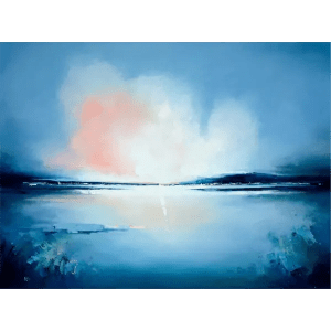 Blue Morning Light III - Anna Gammans - Original Artwork