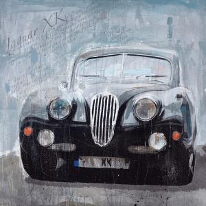 Jaguar XK RL589 - Markus Haub - Original Artwork