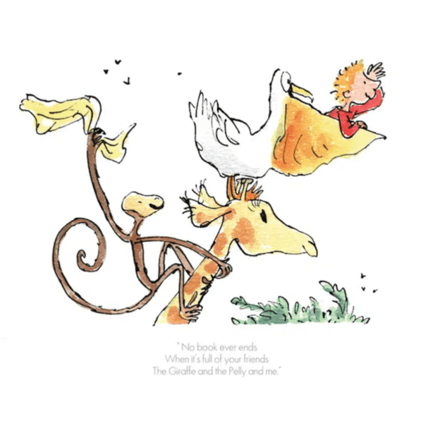 No Book Ever Ends – Quentin Blake – Limited Edition