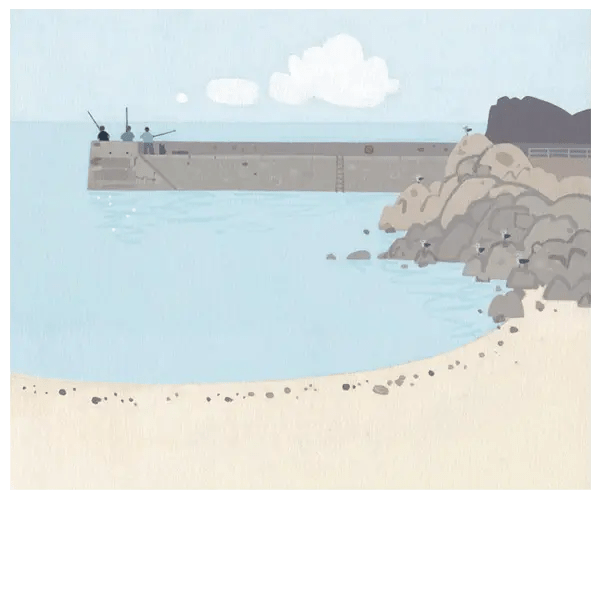 High Hopes Babbacombe Beach - Sasha Harding - Limited Edition