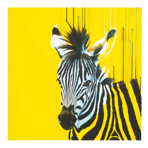 Zebra - Louise McNaught - Limited Edition