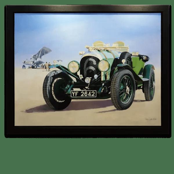 PDW 1926 Bentley 3/45 Le Mans Tourer - Phillip Dutton White - Original Artwork