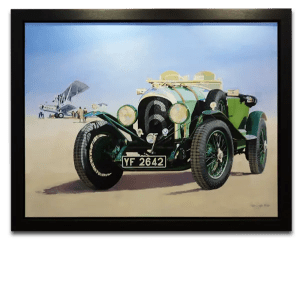 PDW 1926 Bentley 3/45 Le Mans Tourer - Phillip Dutton White - Original Artwork
