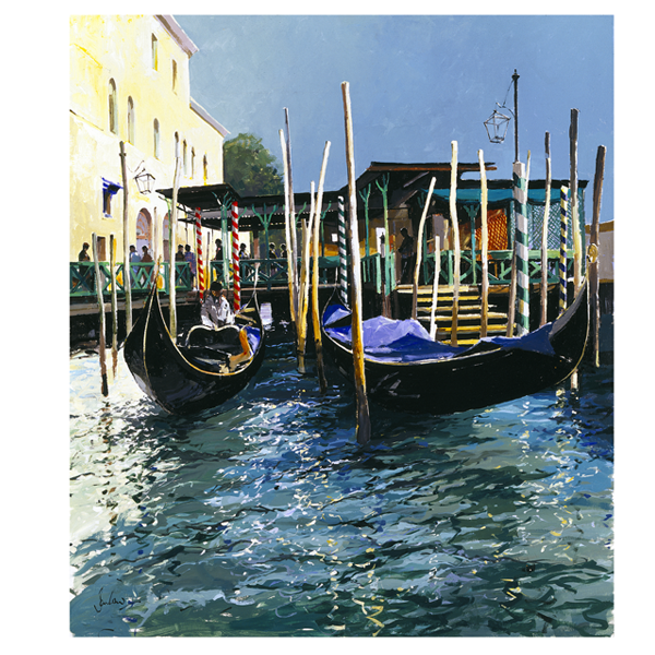 Traghetto Venice - Jeremy Barlow - Limited Edition