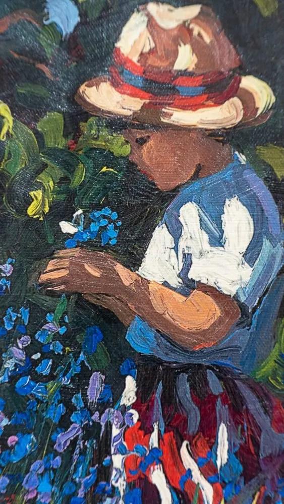 Picking Bluebells - Sherree Valentine Daines - Limited Edition