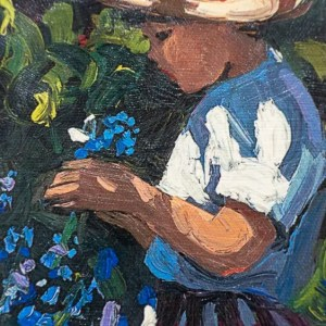 Picking Bluebells - Sherree Valentine Daines - Limited Edition