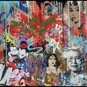 Dreams Come True Wonder Woman - Yuvi - Original Artwork