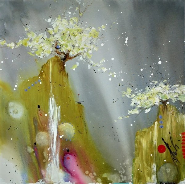 Inside the Rain - Danielle O'Connor Akiyama - Original Artwork