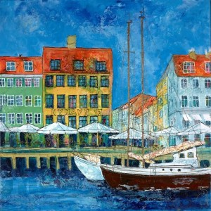 Nyhavn 17 - Katharine Dove - Original Artwork