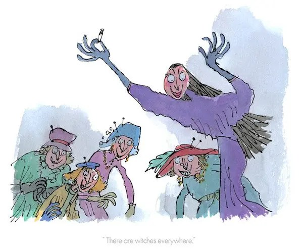 There Are Witches Everywhere - Quentin Blake - Limited Edition