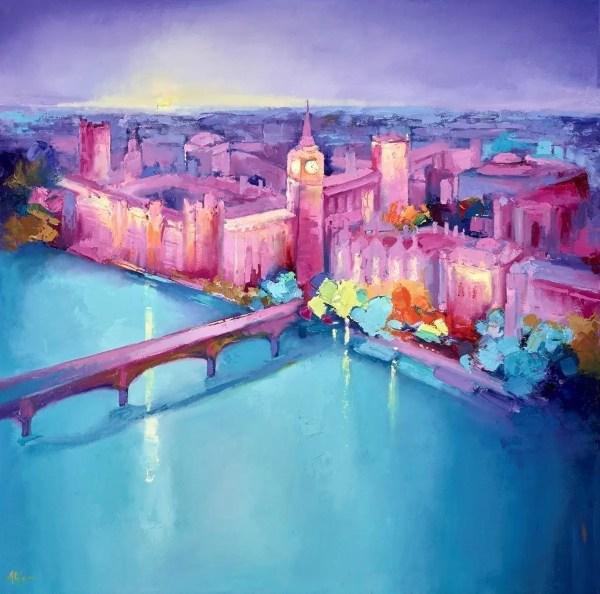 Towards Westminster V - Anna Gammans - Original Artwork