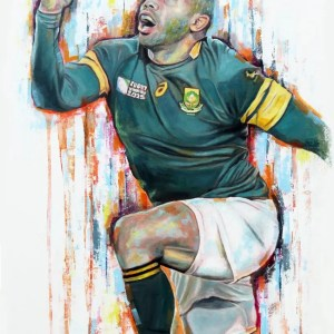Bryan Habana - Leanne Gilroy - Limited Edition