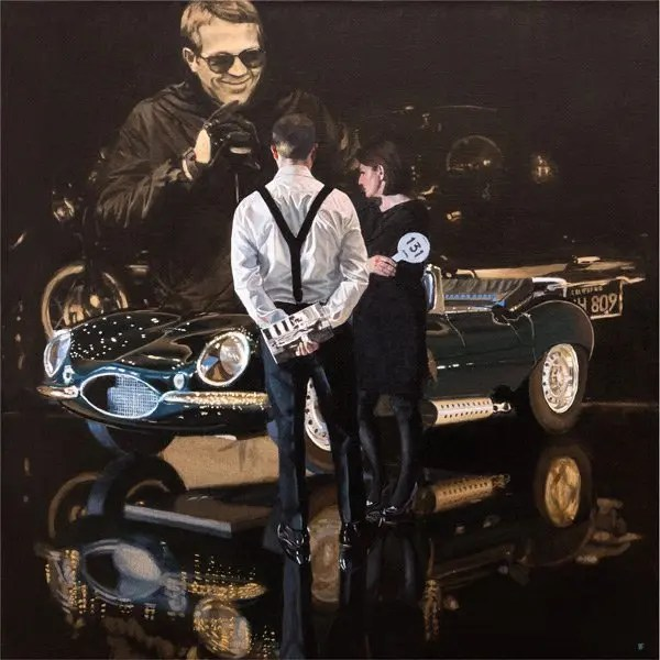 Car Auction Jaguar XKSS - Iain Faulkner - Limited Edition