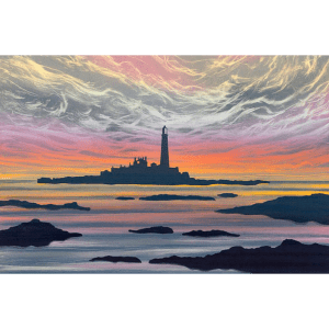 Dawn Light St Mary's Island - Rebecca Vincent - Limited Edition