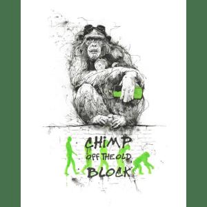 Chimp Off The Old Block – Scott Tetlow – Limited Edition