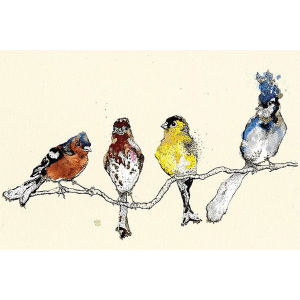 Finches – Anna Wright – Giclee Print