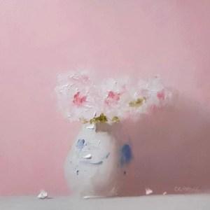 Potted Pinks – Neil Carroll – Original Art