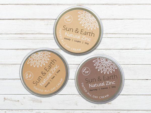 Sun & Earth - Natural Zinc