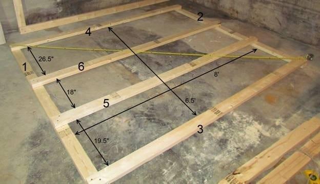 How To Make A Basement Storage Shelf