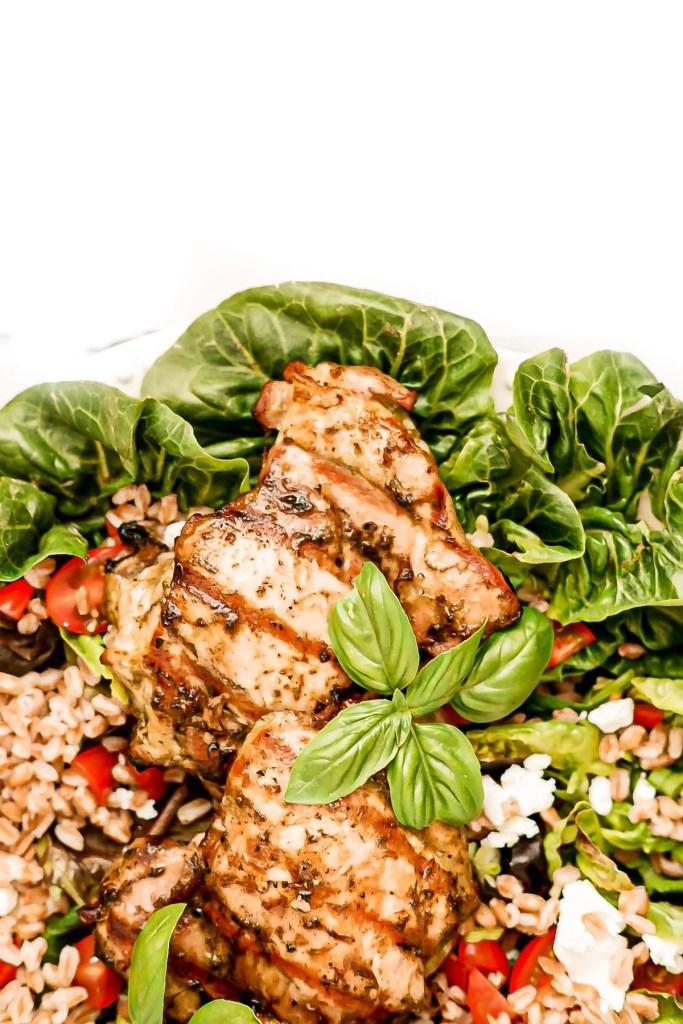 basil balsamic chicken thigh