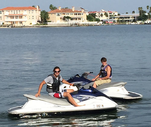 Where to Rent Jet Skis in Clearwater | $85 / hour