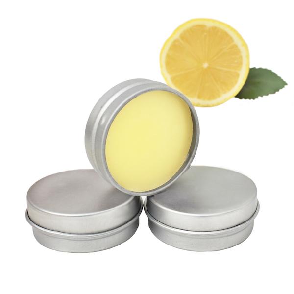 unlabelled lemon lip balm