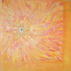 Time for peace, peace project, Frequency painting PEACE, by Ori
