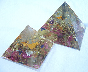 Orgone pyramids by Lightstones