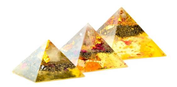 Lightstones orgone pyramids