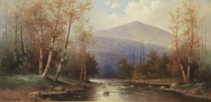 Mount Washington from Bethlehem by George McConnell