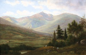 Mount Adams from the Glen by Sylvester Phelps Hodgdon