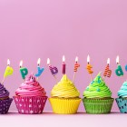 cupcake, birthday, celebrate