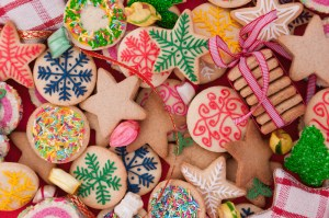 Christmas cookies, baking, holidays, decorate