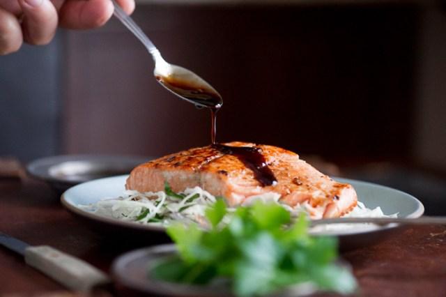 Easy Teriyaki Salmon recipe or Salmon Teriyaki Recipe   @whiteonrice