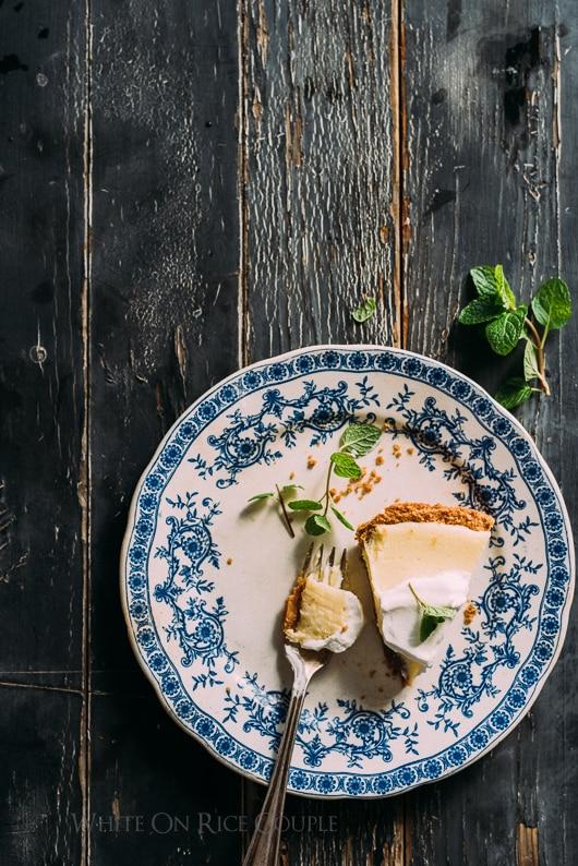Meyer Lemon Pie Recipe is Favorite Lemon Pie Ever | @whiteonrice