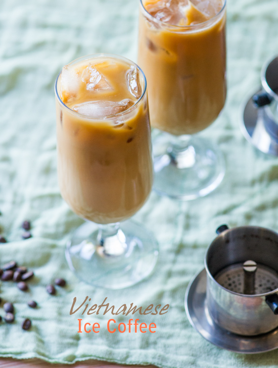 Vietnamese Iced Coffee Recipe with Espresso for Coffee Lovers   @whiteonrice