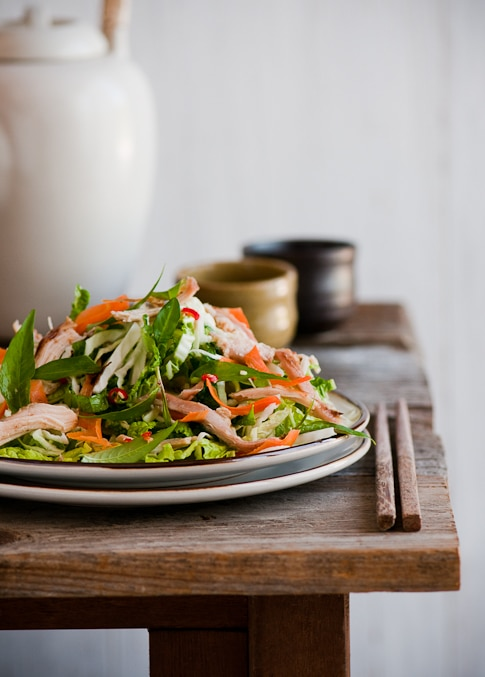 Love Vietnamese Food? You'll love this fresh Vietnamese Chicken Salad Recipe from @whiteonrice